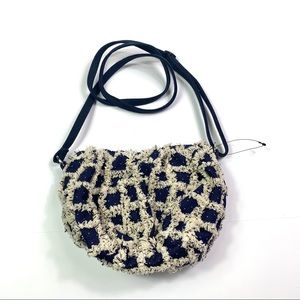 NEW Free People Fuzzy Small Crossbody Bag